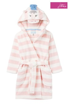 Joules Pink Giddy Character Dressing Gown