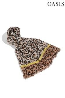 Oasis Animal Arabella Leopard Scarf