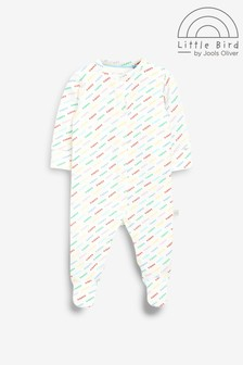 Little Bird Organic Cotton Printed Sleepsuit