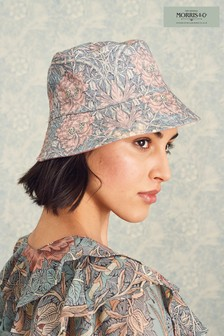 Morris & Co Print Reversible Bucket Hat