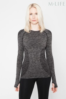 M.Life Yoga Performance Seamless Long Sleeve Top