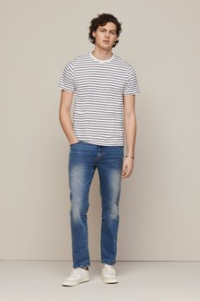 Stag Stripe Regular Fit T-Shirt