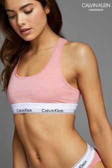 Calvin Klein Pink Modern Cotton Bralette