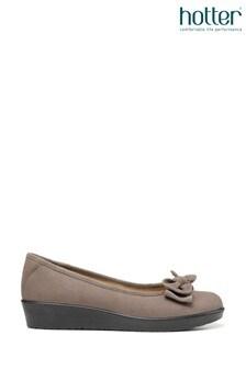 Hotter Jade Slip-On Ballerina Shoes