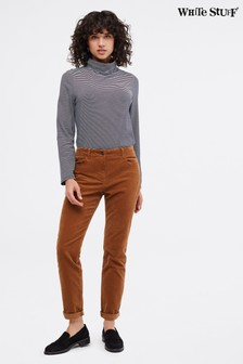 White Stuff Brown Whitcombe Cord Slim Jeans