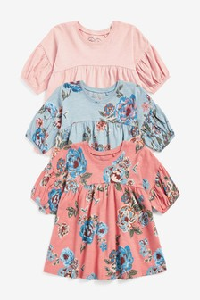 3 Pack Tunic Tops (3mths-7yrs)