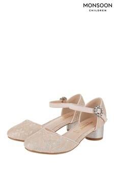 Monsoon Tabitha Lace Two Part Shoe