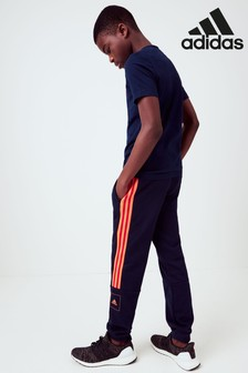 adidas Navy/Red Athletic Club Joggers