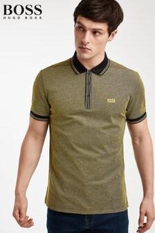 BOSS Khaki Paddy Poloshirt