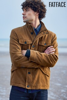 FatFace Brown Peterstone Jacket