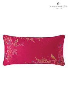 Sara Miller Cerise Birds Cushion