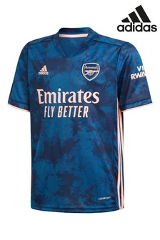 adidas Arsenal FC Navy Third 20/21 Kids Football Shirt