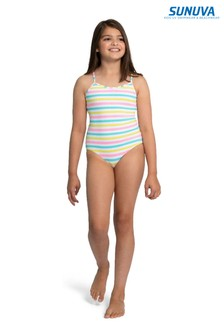 Sunuva Multi Stripe Strappy Swimsuit