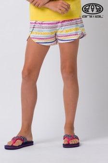 Animal White Malibu Jersey Shorts