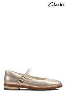 Clarks Gold Drew Sky K Shoes