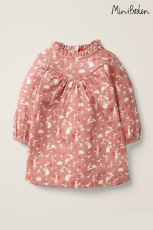 Boden Pink Printed Fairy Jersey Dress