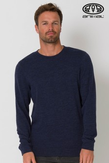 Animal Blue Norman Knitted Jumper