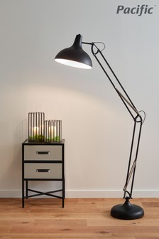 Alonzo Task Floor Lamp by Pacific