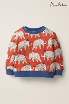 Boden紅色舒適運動衫
