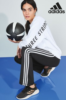 adidas 3 Stripe Logo Sweater