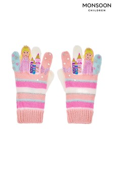 Monsoon Stripe Princess Novelty Gloves