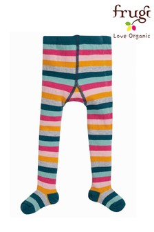 Frugi Rainbow Stripe Tights
