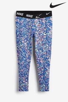 Nike Little Kids Blue Print JDI. Dri-Fit Regrind Leggings