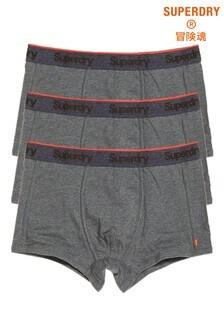 Superdry Orange Label Sports Trunks Three Pack