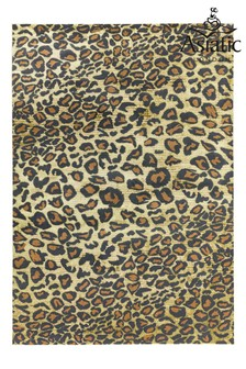 Quantam Leopard Rug by Asiatic Rugs
