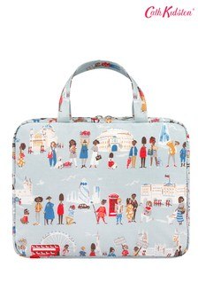 Cath Kidston® Blue Two Part Wash Bag London People