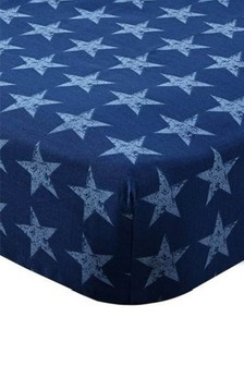 Star And Stripes Fitted Sheet by Catherine Lansfield