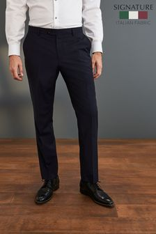 Angelico Signature Check Suit: Trousers