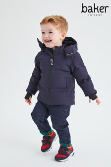 Baker by Ted Baker Navy Padded Jacket