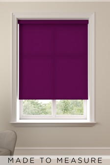 Asher Plum Made To Measure Roller Blind