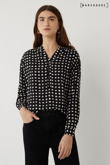 Warehouse Mono Check Shirt
