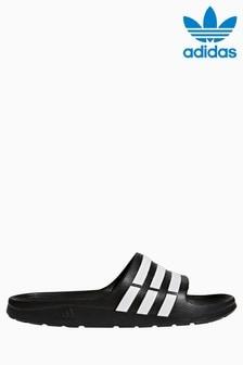 big sale cedb3 6e9ea Buy Women's footwear Footwear Sliders Sliders Blue Blue Sandals ...