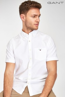 GANT Regular Short Sleeve Oxford Shirt