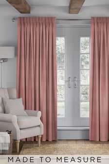 Jasper Blush Pink Made To Measure Curtains