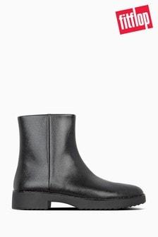 FitFlop™ Black Mari Safferano Ankle Boots