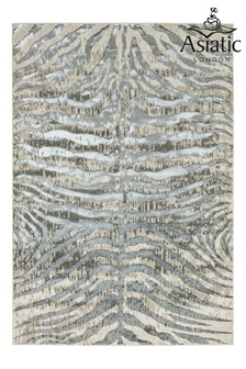 Quantam Zebra Rug by Asiatic Rugs