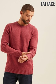 FatFace Pink Wakefield Crew Jumper