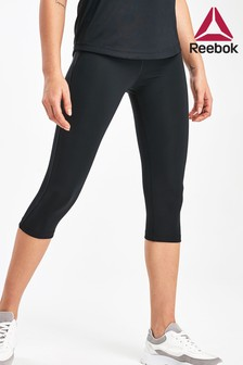 Reebok Black Workout Ready Capri Leggings