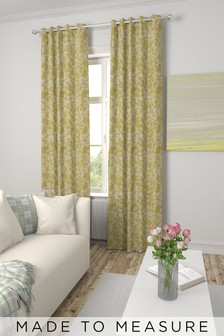 Blossom Jacquard Made To Measure Curtains