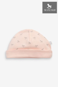 The Little Tailor Pink All Over Print Rocking Horse Jersey Hat