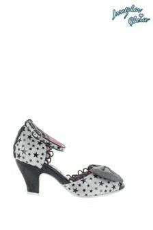 Irregular Choice Black Sitting Pretty Open Toe Sandals