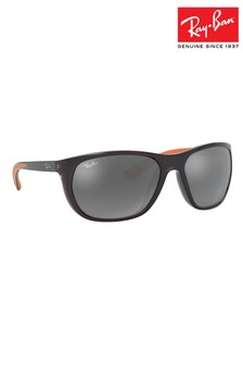 Ray-Ban® Transparent Grey ORB4307 Sunglasses