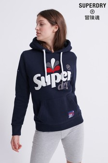 Superdry Embroidered Classic Leaf Hoody