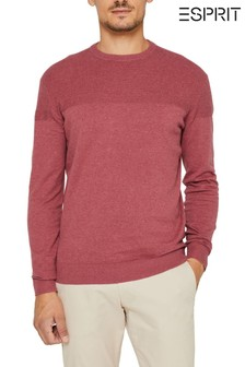 Esprit Pink Cotton Cashmere Sweater