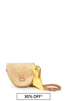 Chloe Kids Girls Straw Bag