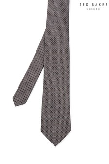 Ted Baker Onpoint Silk Jacquard Branded Tie
